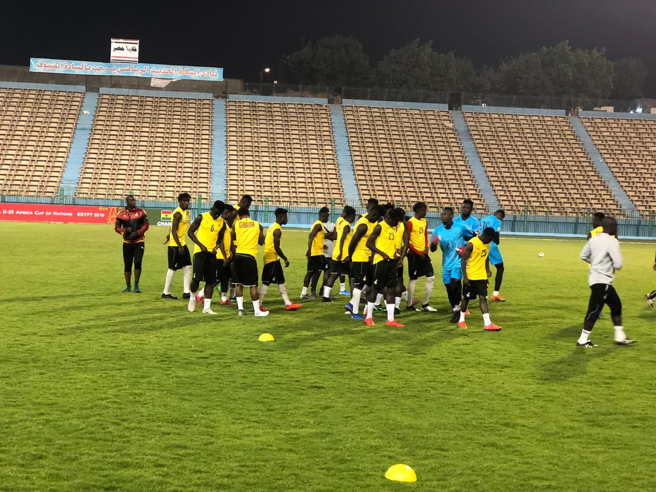 تدريبات منتخب غانا الاولمبى (1)
