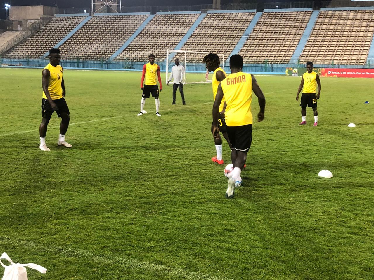 تدريبات منتخب غانا الاولمبى (4)
