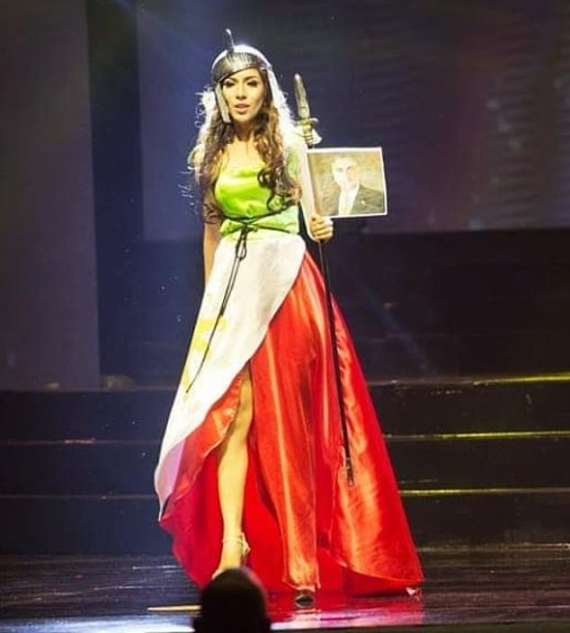 بهاره زاري بهاري تلبس علم ايران