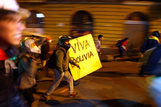 مظاهرات بوليفيا ضد الرئيس