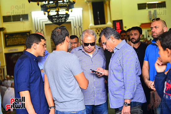 أحمد السبكى والكابتن حمادة صدقى