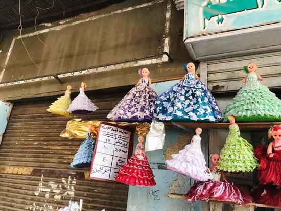 عروسة المولد تزين أسواق الغربية (10)