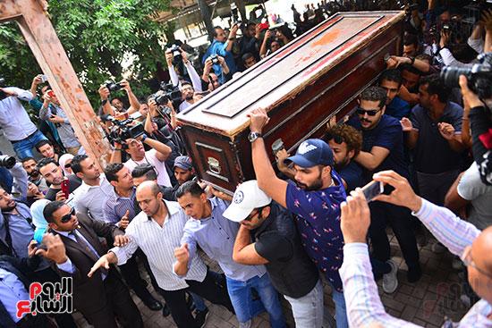 جنازة هيثم احمد زكي (22)