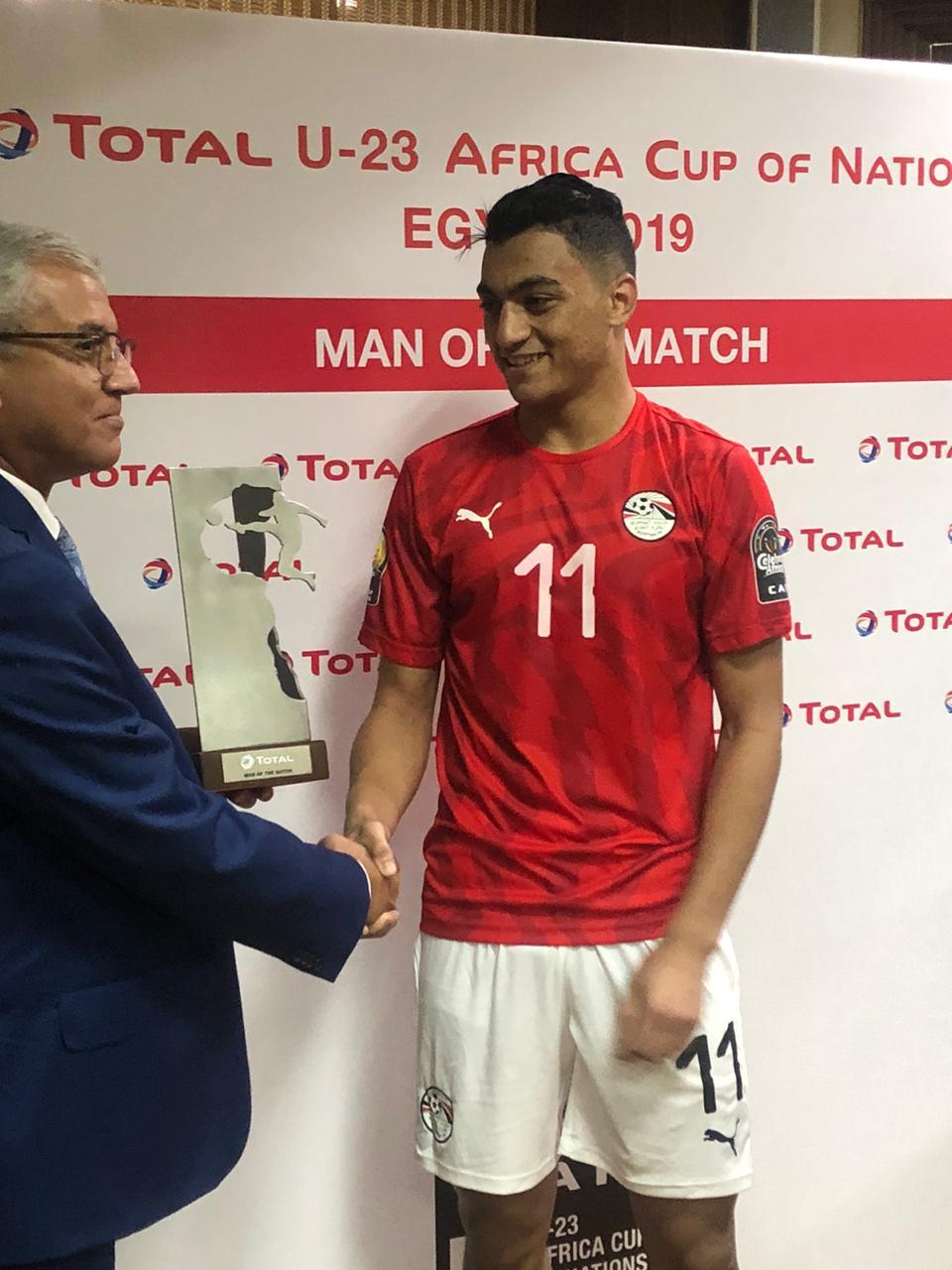 مصطفى محمد رجل المباراة