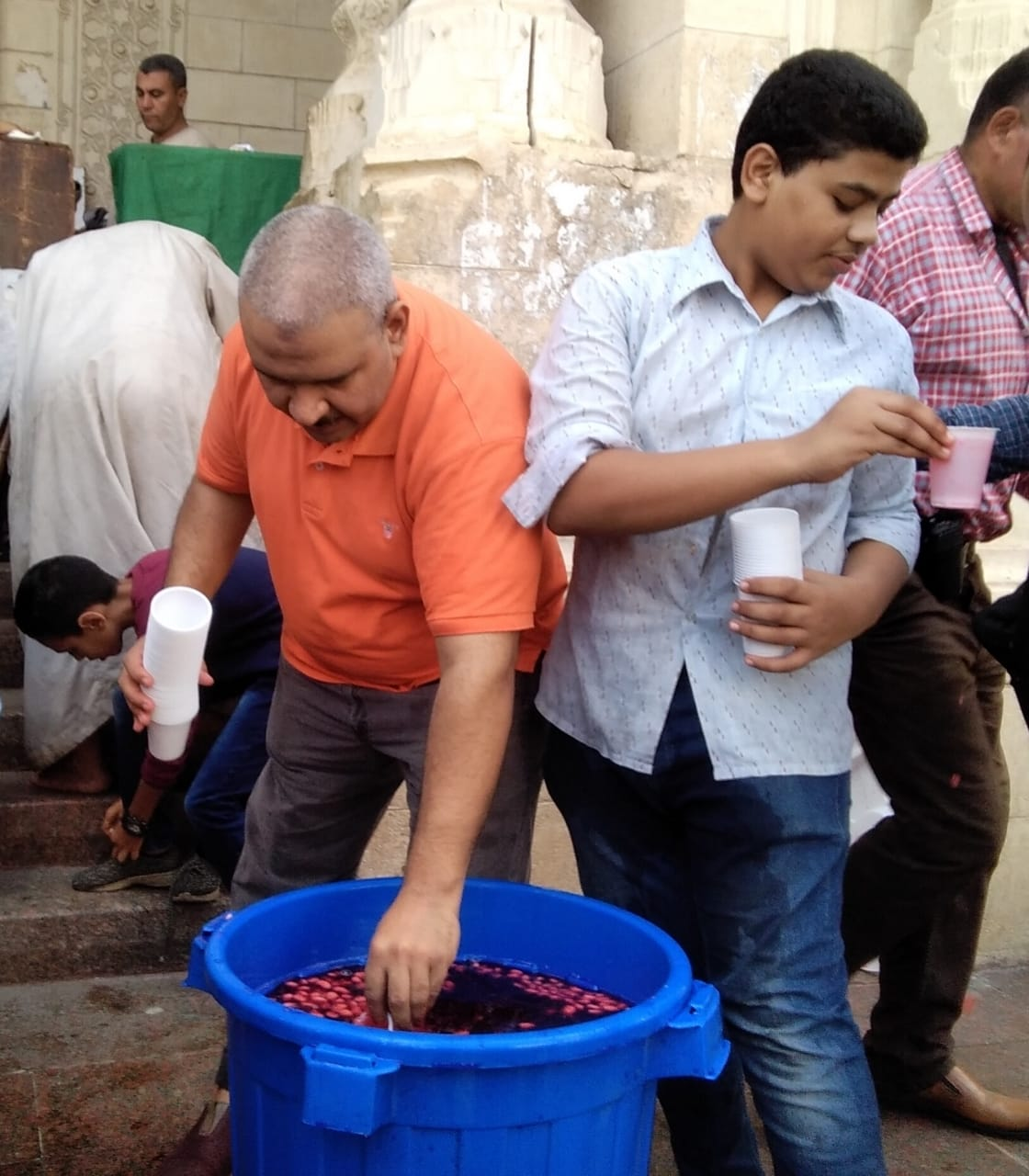 توزيع شربات بالإسكندرية