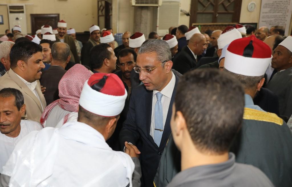 المحافظ يشهد الاحتفال بذكرى المولد النبوى  (4)