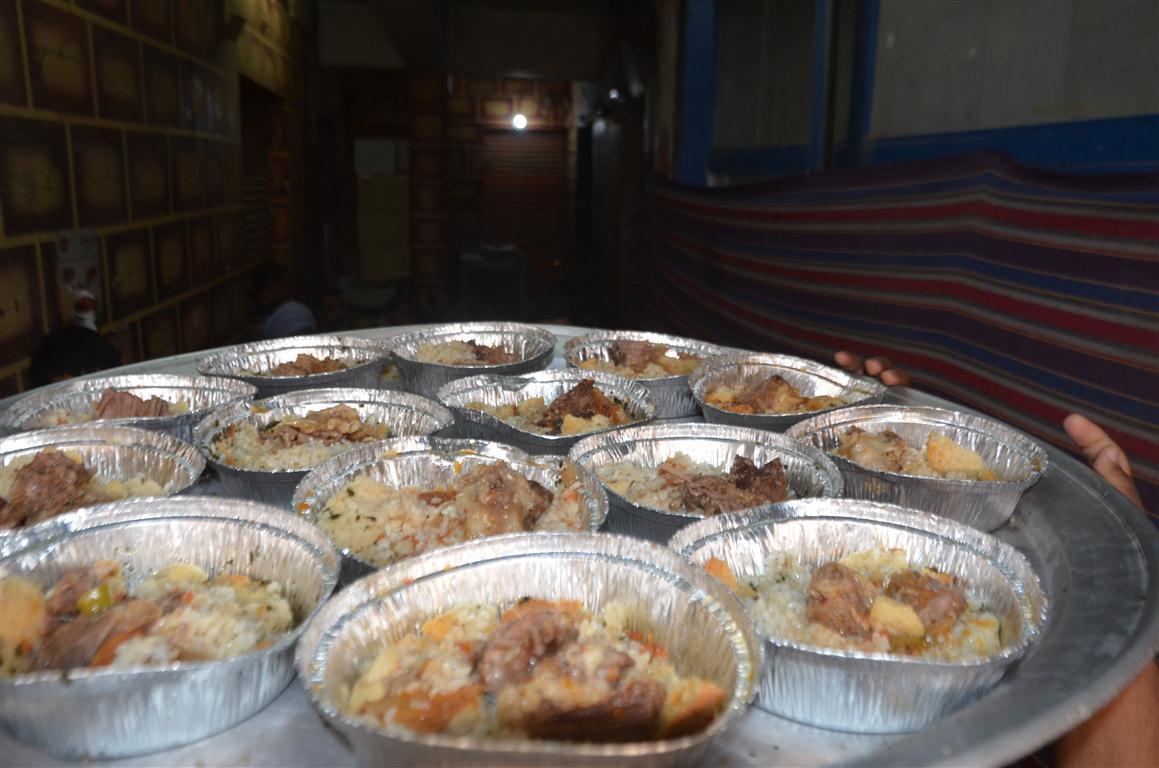 وليمة المولد إحدي عادات وتقاليد جنوبي الأقصر إحتفالاً بالمولد النبوي الشريف (2)