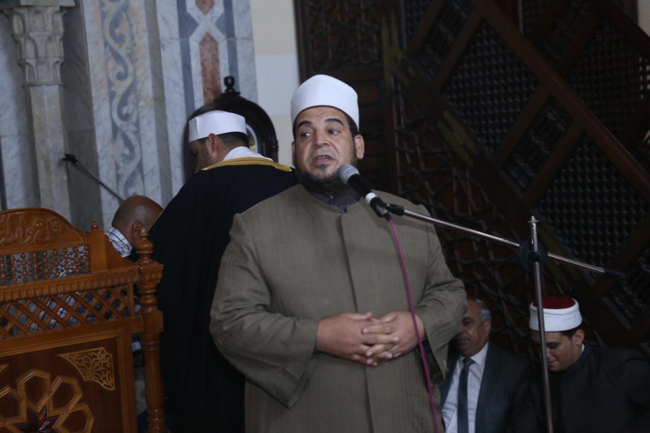 محافظ بورسعيد يشهد احتفالية المولد النبوي الشريف (6)