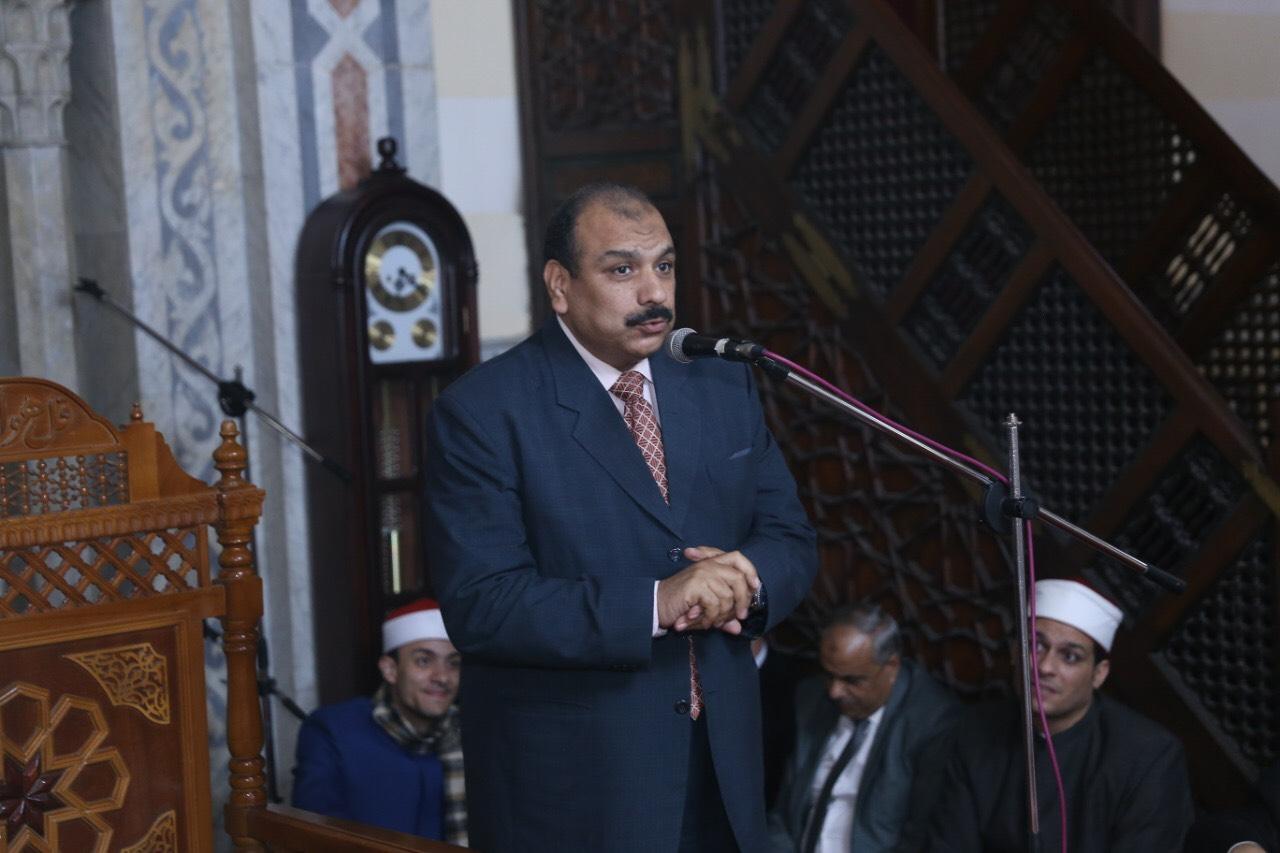 محافظ بورسعيد يشهد احتفالية المولد النبوي الشريف (4)