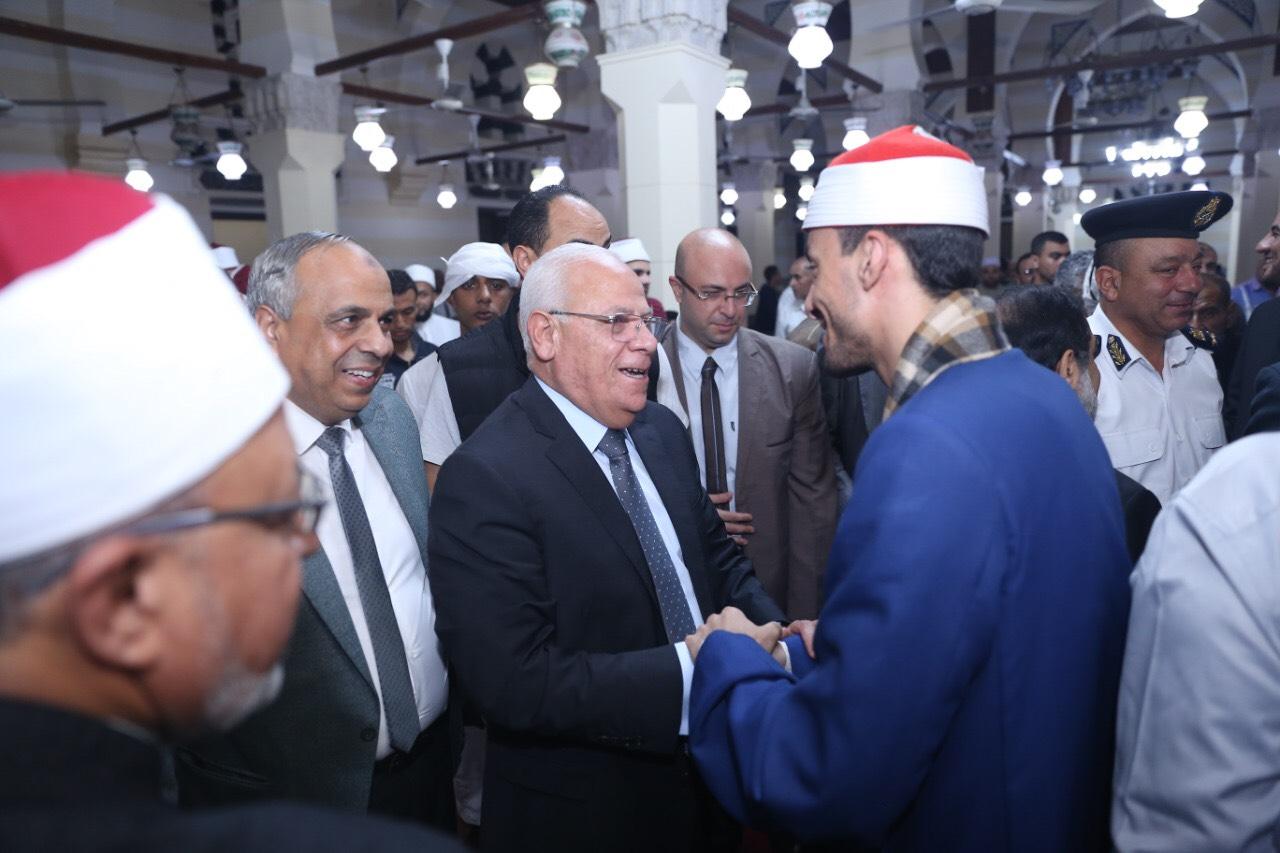 محافظ بورسعيد يشهد احتفالية المولد النبوي الشريف (5)