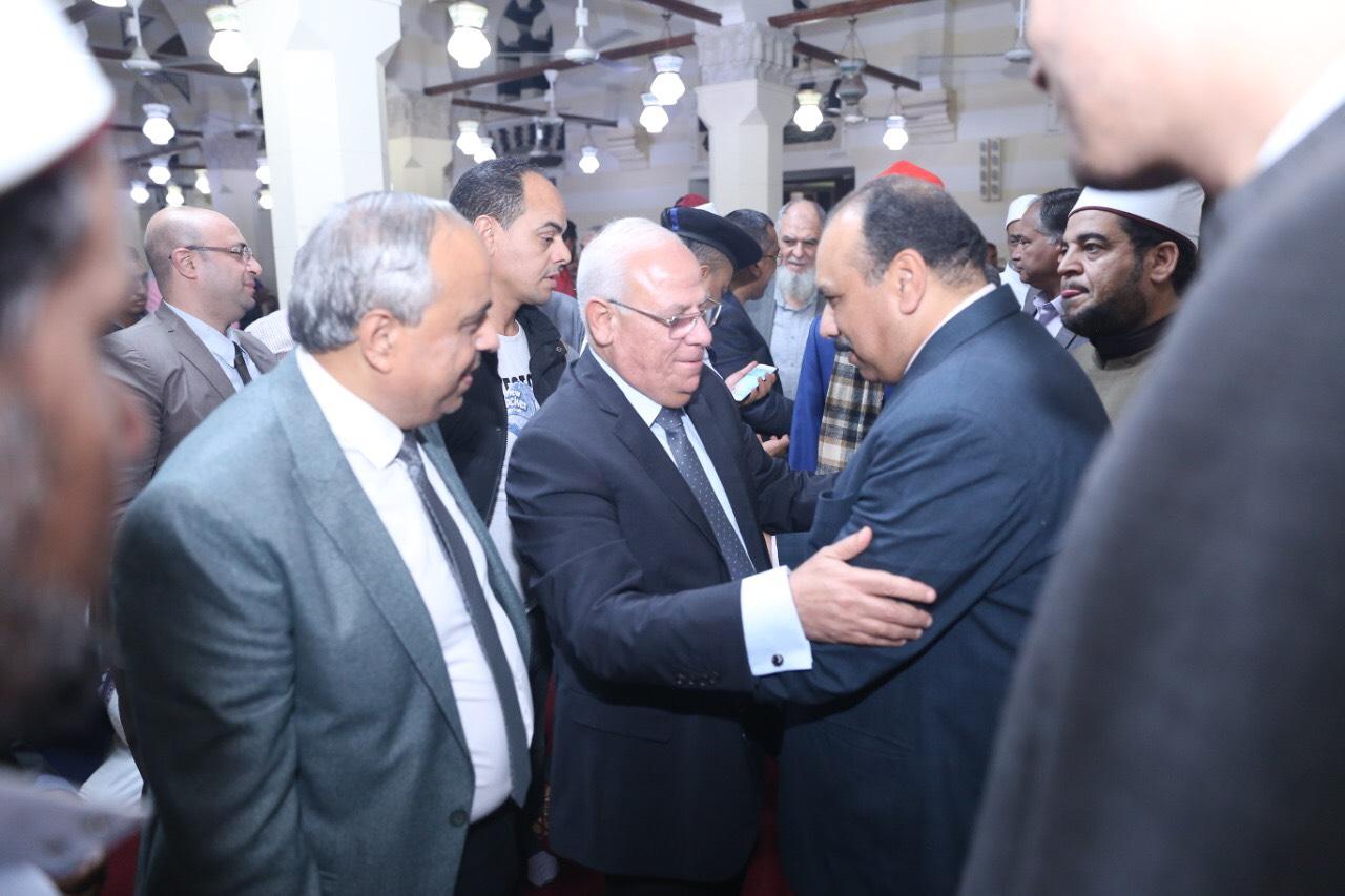 محافظ بورسعيد يشهد احتفالية المولد النبوي الشريف (3)