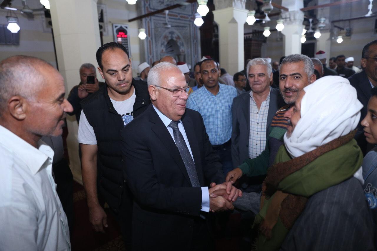 محافظ بورسعيد يشهد احتفالية المولد النبوي الشريف (2)