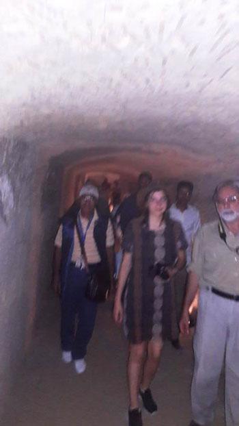 انتعاش حركة السياحة بالأماكن الأثرية بالفيوم (7)