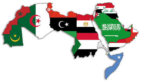 A_map_of_the_Arab_World_with_flags