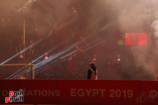 افتتاح كاس الامم باستاد القاهرة