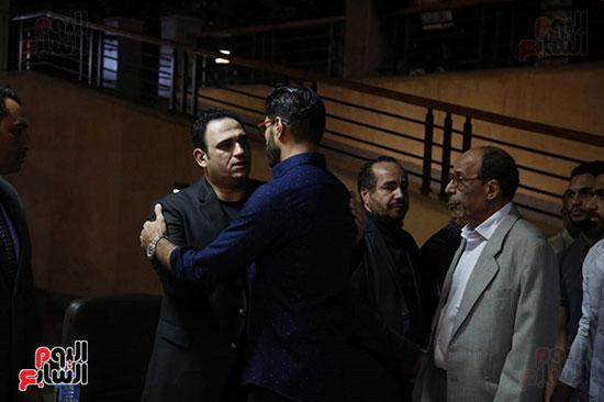 عزاء والد أكرم حسنى (29)