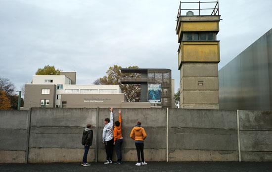 بقايا من جدار برلين