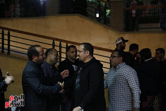 عزاء والد أكرم حسنى (46)