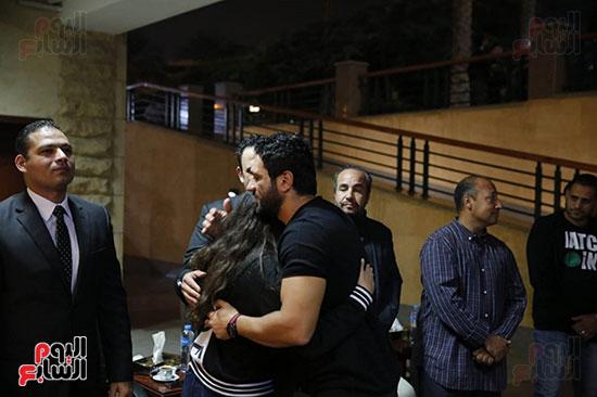 عزاء والد أكرم حسنى (27)