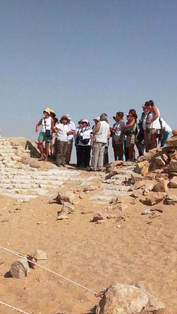 انتعاش حركة السياحة بالأماكن الأثرية بالفيوم (5)