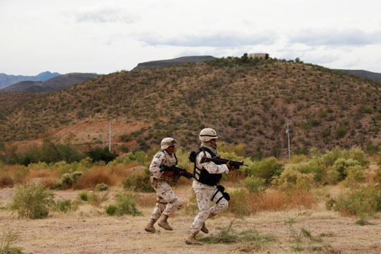 قوات الجيش بالمكسيك
