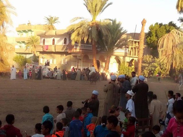 سباقات الخيول في قري محافظة الأقصر إحتفالات بالمولد النبوي الشريف (2)