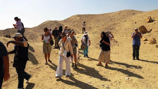 انتعاش حركة السياحة بالأماكن الأثرية بالفيوم (2)