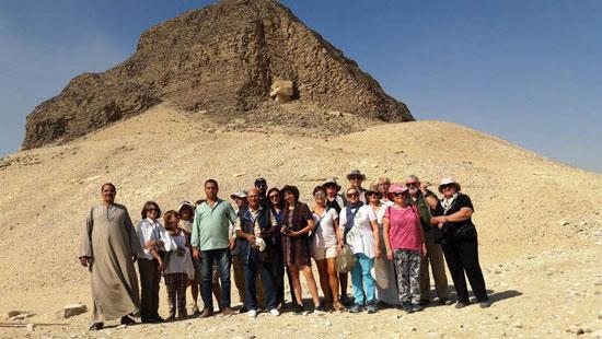 انتعاش حركة السياحة بالأماكن الأثرية بالفيوم (1)