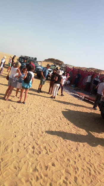 انتعاش حركة السياحة بالأماكن الأثرية بالفيوم (4)