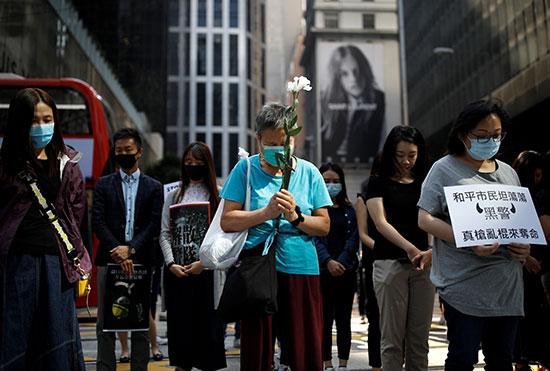 وقفة احتجاجية بعد وفاة الطالب الجامعى