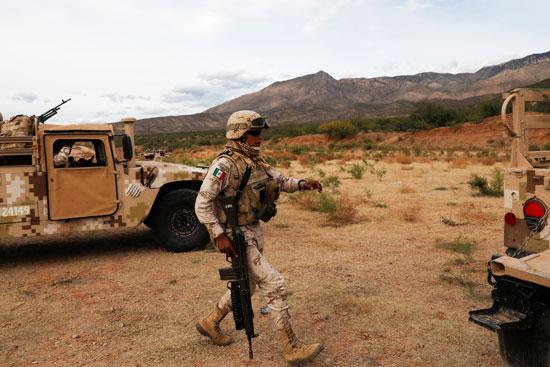 اشتباكات عنيفة بين قوات الأمن والعصابات بالمكسيك