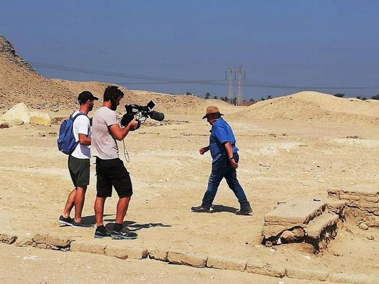 انتعاش حركة السياحة بالأماكن الأثرية بالفيوم (11)