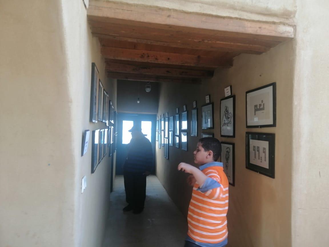 متحف الفنون والكاريكاتير بقرية تونس بالفيوم (2)