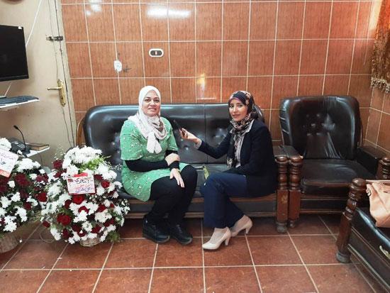 الدكتورة-ايناس-حمدي-تتحدث-لليوم-السابع-بعد-حصولها-علي-جائزة-التميز-الحكومي