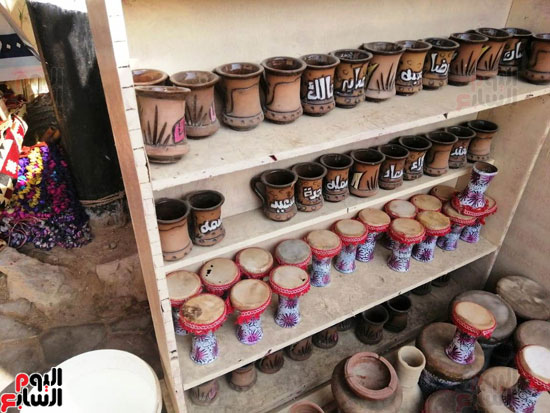 مهرجان قرية تونس للخزف والفخار فى الفيوم (10)