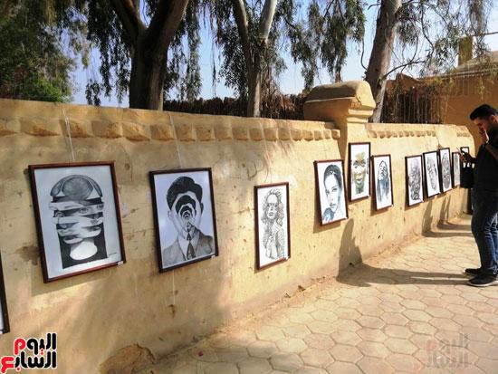 مهرجان قرية تونس للخزف والفخار فى الفيوم (6)