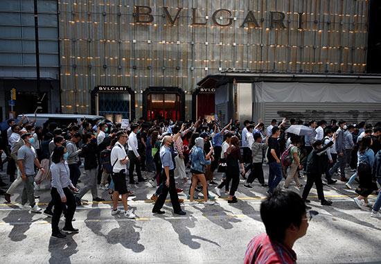 احتجاجات غاضبة فى هونج كونج بعد وفاة الطالب الجامعى
