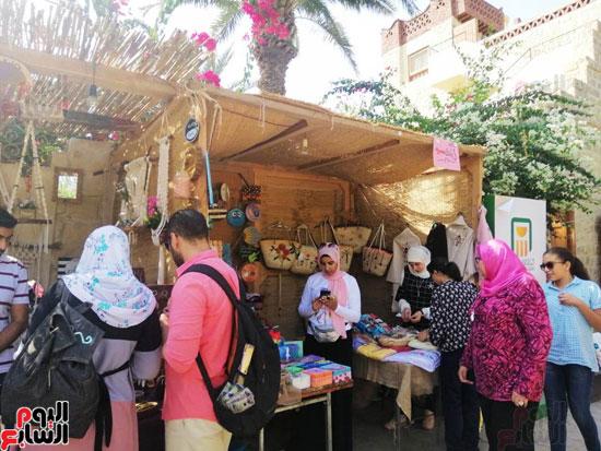 مهرجان قرية تونس للخزف والفخار فى الفيوم (4)