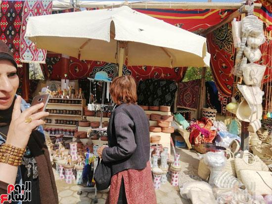 مهرجان قرية تونس للخزف والفخار فى الفيوم (1)