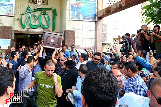 جنازة هيثم احمد زكى (1)