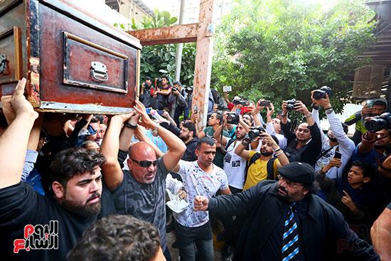 جنازة هيثم احمد زكى (2)