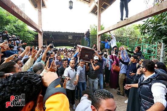 جنازة هيثم احمد زكى (10)