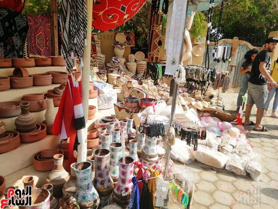 مهرجان قرية تونس للخزف والفخار فى الفيوم (12)