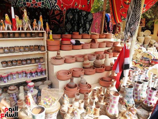 مهرجان قرية تونس للخزف والفخار فى الفيوم (2)