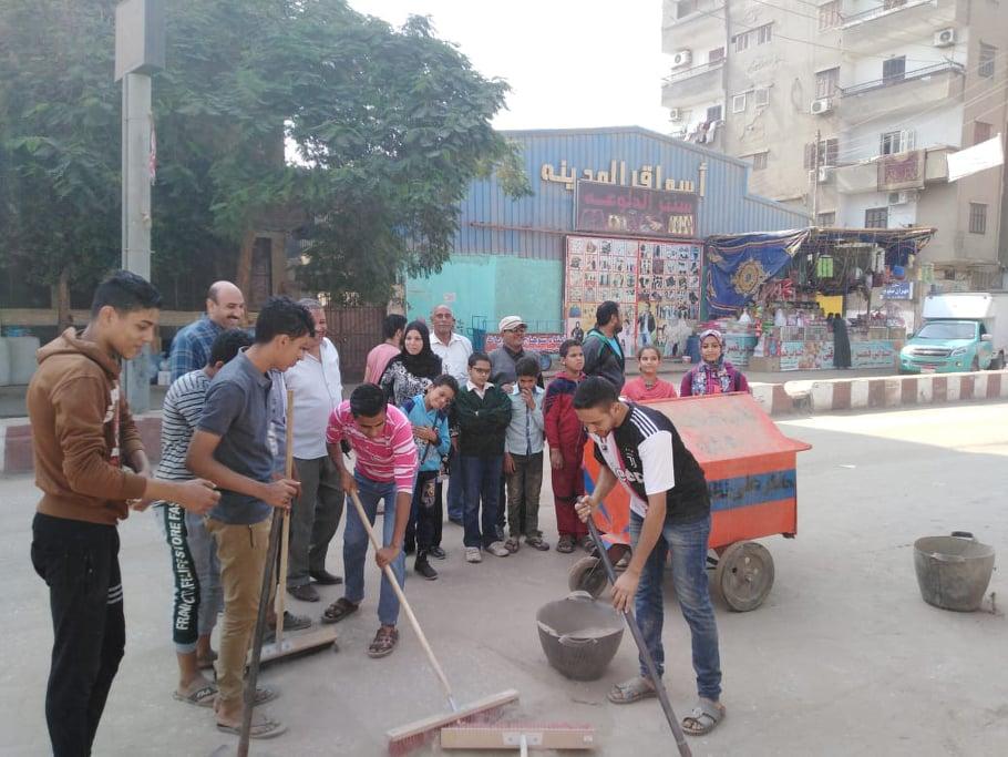 حملات نظافة بمركز القوصية (1)