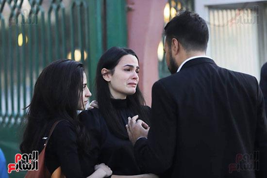 بكاء انجي سلامة خطيبة هيثم احمد زكي