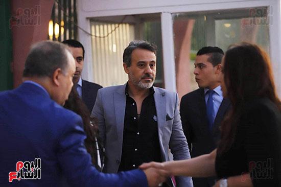 عزاء هيثم احمد زكى (3)