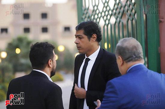 عزاء هيثم احمد زكى (1)