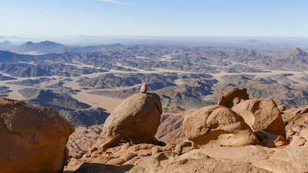 جبال سيناء المميزة