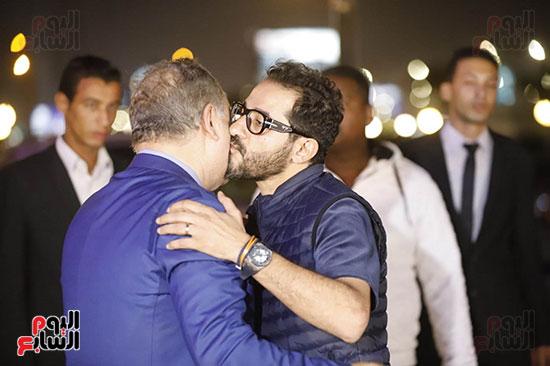 احمد حلمي مع اشرف زكي